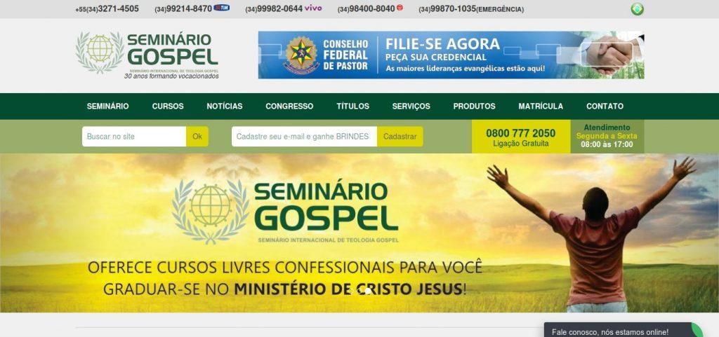 Cliente Seminário Gospel